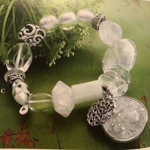 """Silpada B2311 """"Liquidity"""" Stretch Bracelet"""